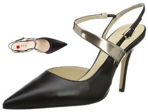 Högl shoe destalonado de cuero