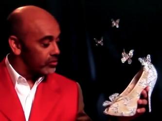 Zapatos de Cenicienta Christian Louboutin
