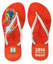 Sandalias mundial Brasil 2014