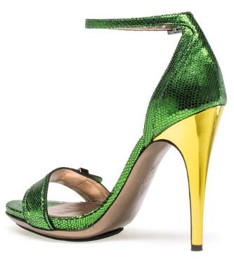 Lanvin Metalico es el Zapato del dia