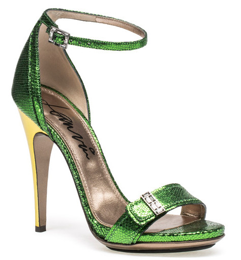 lanvin_shoe_verde_metalico_tacon_amarillo_frente