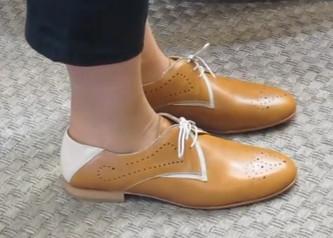 Zapato Tubolari Cuero
