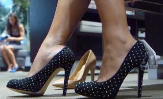 Etiqueta magnética para Zapatos de Tacón
