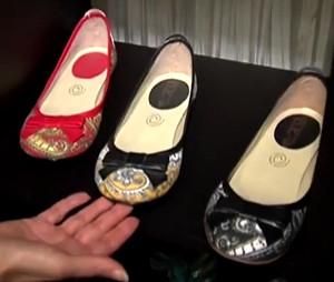 Zapatos de rebozo y paliacate