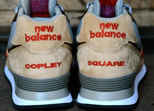 Copley Square nuevo zapato de New Balance