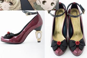 Zapatos con diseño de Rozen Maiden Shinku y Suigintou